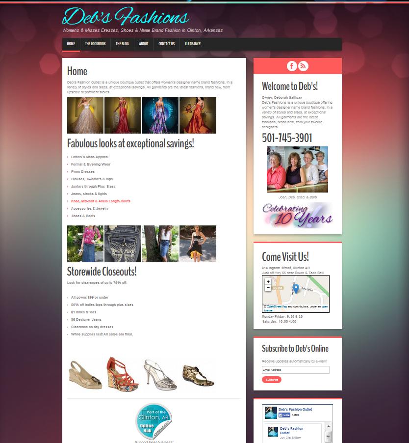 Deb's Fashions | www.debsfashionsonline.com