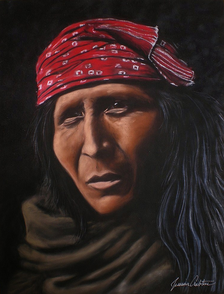"""Apache"" 12x16 (Private Collection)"
