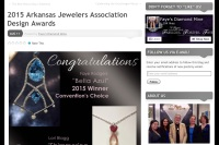Faye's Diamond Mine on WordPress by Jessica Crabtree
