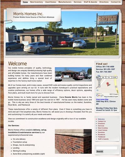 Morris Homes | www.morrismobilehomes.com
