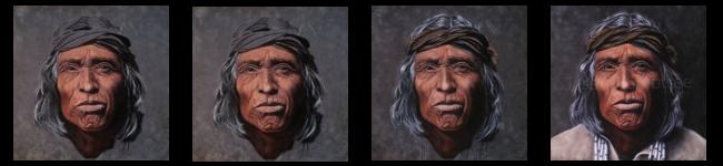 Zuni Pastel Portrait by Jessica Crabtree