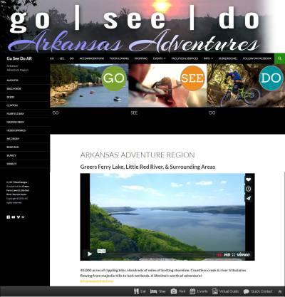 Arkansas Adventures Tourism App | www.goseedoar.org