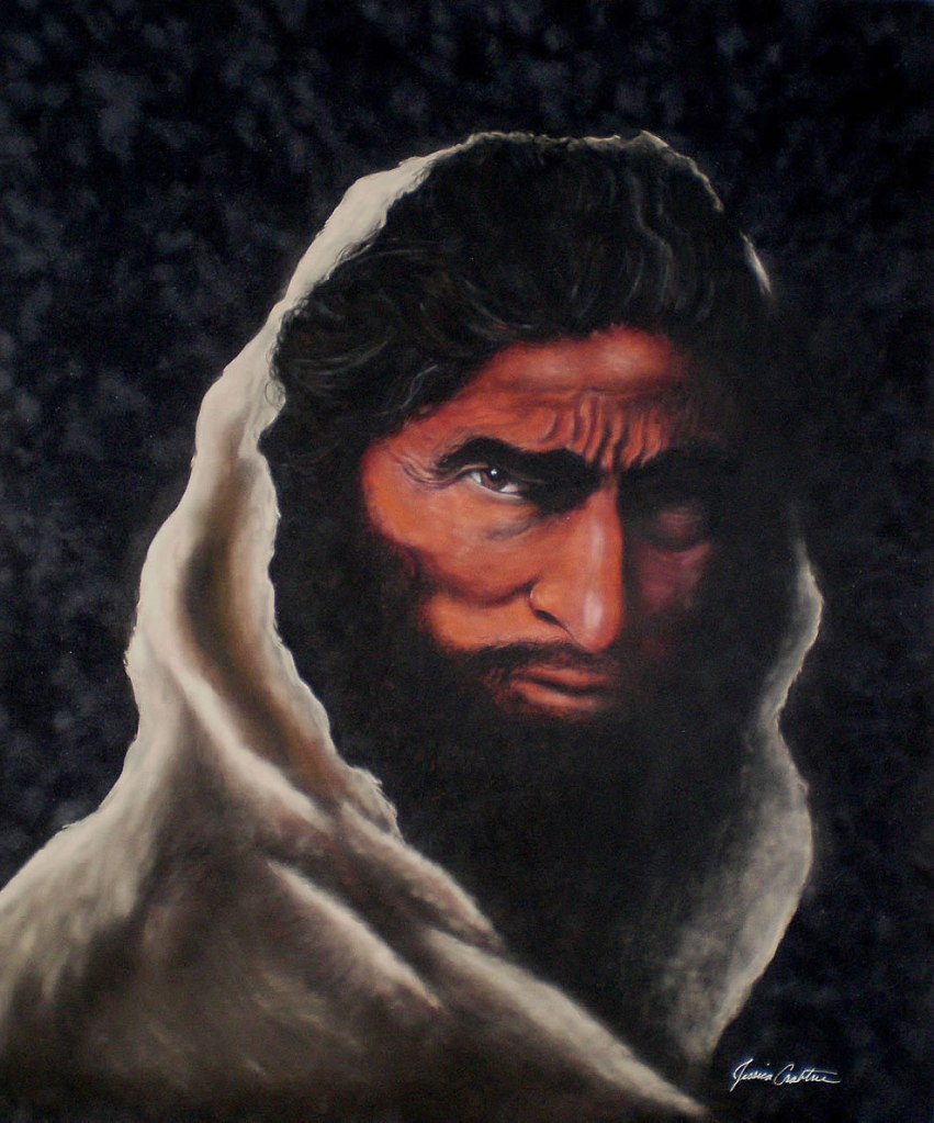 """Malachi: the Messenger"" 20x24 (Commission)"