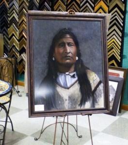Blackfoot custom framing